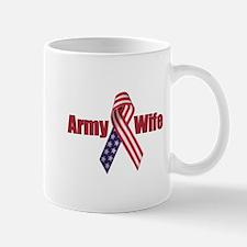 Army Wife (RWB Ribbon) Mug