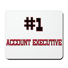 Number 1 ACCOUNT EXECUTIVE Mousepad