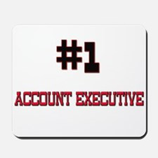 Number 1 ACCOUNT EXECUTIVE Mousepad