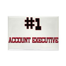 Number 1 ACCOUNT EXECUTIVE Rectangle Magnet