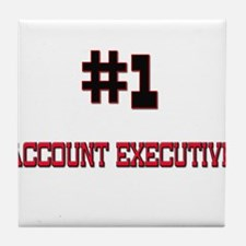 Number 1 ACCOUNT EXECUTIVE Tile Coaster