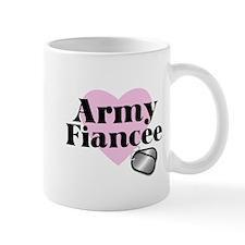 Army Fiancee (pink heart) Mug