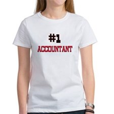 Number 1 ACCOUNTANT Tee