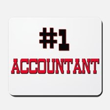 Number 1 ACCOUNTANT Mousepad