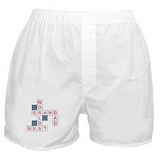 Crossword Grandpa Boxer Shorts