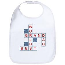 Crossword Grandpa Bib