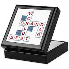 Crossword Grandpa Keepsake Box