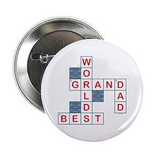 """Crossword Grandpa 2.25"""" Button"""