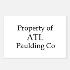 Property of ATL Paulding Co Postcards (Package of