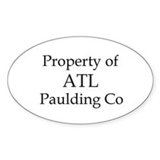 Property of ATL Paulding Co Oval Decal