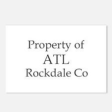 Property of ATL Rockdale Co Postcards (Package of