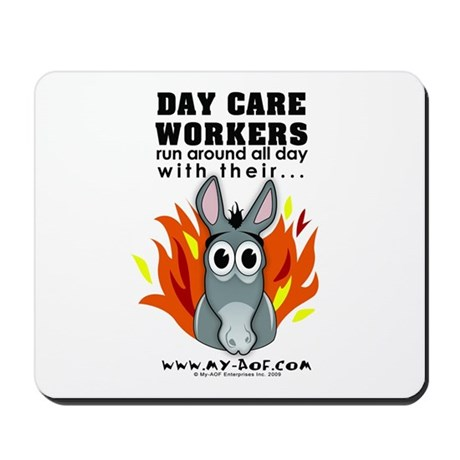 Day Care Workers Mousepad