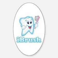 iBrush Oval Decal