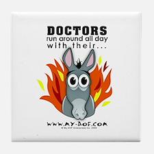 Doctors Tile Coaster