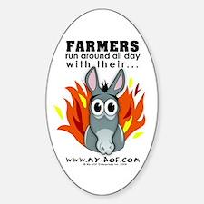 Farmers Oval Decal