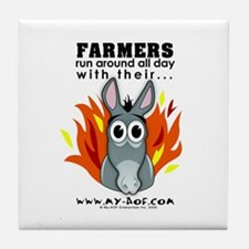 Farmers Tile Coaster
