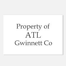 Property of ATL Gwinnett Co Postcards (Package of