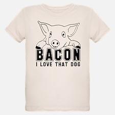 Bacon - B or W Imprint T-Shirt