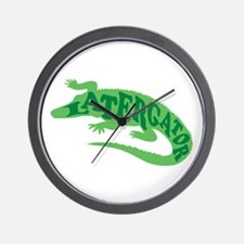 Later Gator Wall Clock