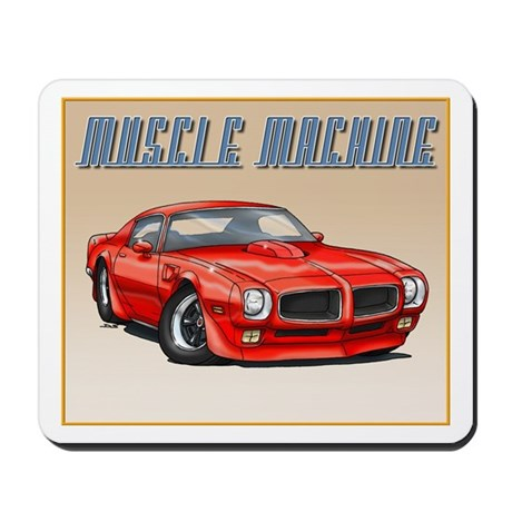 70-73 Red Trans Am Mousepad