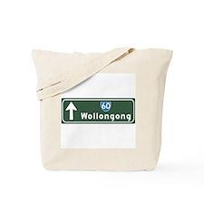 Wollongong, Australia Hwy Sign Tote Bag