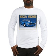 1970-1973 Blue Trans Am Long Sleeve T-Shirt
