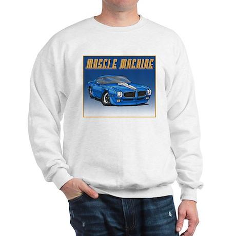 1970-1973 Blue Trans Am Sweatshirt