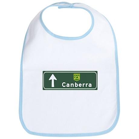 Canberra, Australia Hwy Sign Bib