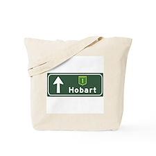 Hobart, Australia Hwy Sign Tote Bag