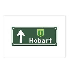 Hobart, Australia Hwy Sign Postcards (Package of 8