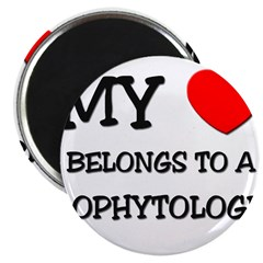My Heart Belongs To A ZOOPHYTOLOGIST Magnet