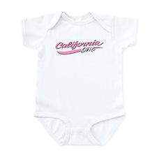 Unique California womens Infant Bodysuit