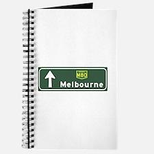Melbourne, Australia Hwy Sign Journal