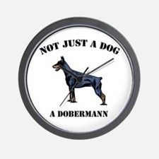 Not Just a Dog Wall Clock