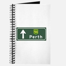 Perth, Australia Hwy Sign Journal