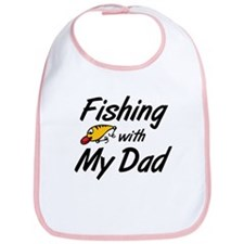 Fishing with My Dad Bib