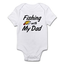 Fishing with My Dad Infant Bodysuit