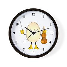 Violinist Wall Clock