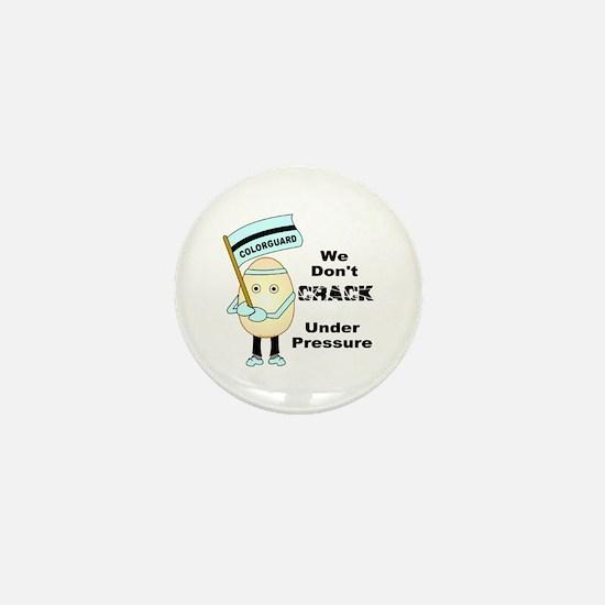 Colorguard Egghead Mini Button