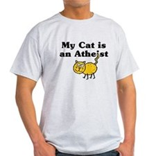 My Cat Is An Atheist T-Shirt