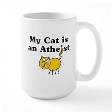 My Cat Is An Atheist Mug