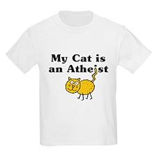 My Cat Is An Atheist T-Shirt