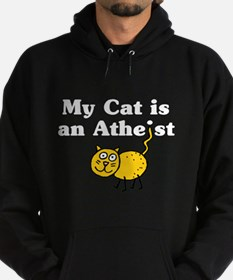 My Cat Is An Atheist Hoodie
