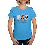 Peace Love Psychology Women's Dark T-Shirt
