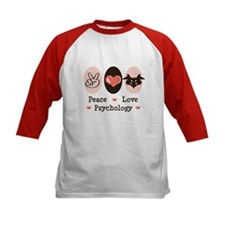 Peace Love Psychology Psychologist Tee