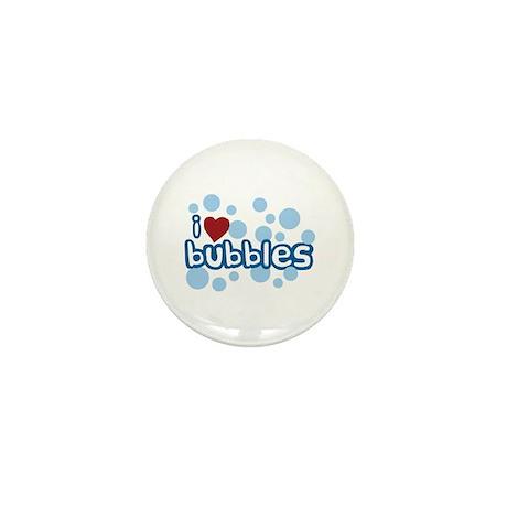 I Love Bubbles Mini Button (100 pack)