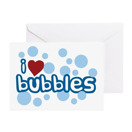 I Love Bubbles Greeting Cards (Pk of 20)