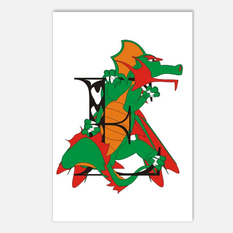 Dragon E Postcards (Package of 8)