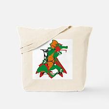 Dragon E Tote Bag