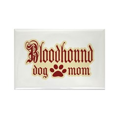 Bloodhound Mom Rectangle Magnet